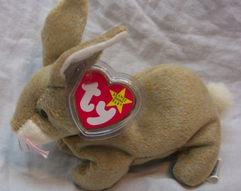 30276da2e6a Ty Beanie Baby NIBBLY 1999 w  Tag Plush Toy RARE RETIRED
