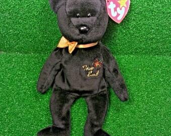 ec687839b12 TY Beanie Baby The End 1999 Y2K Millennium Teddy Bear MWMT