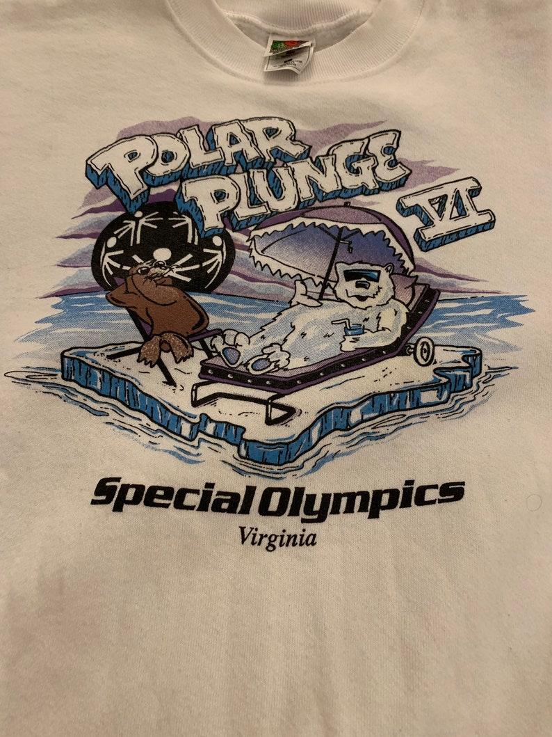 Vintage Virginia Beach Polar Plunge VI Crewneck Sweatshirt