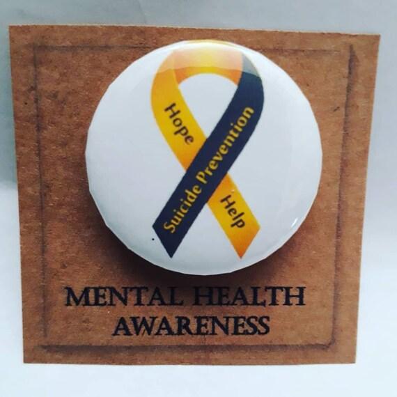 mental health awareness badge