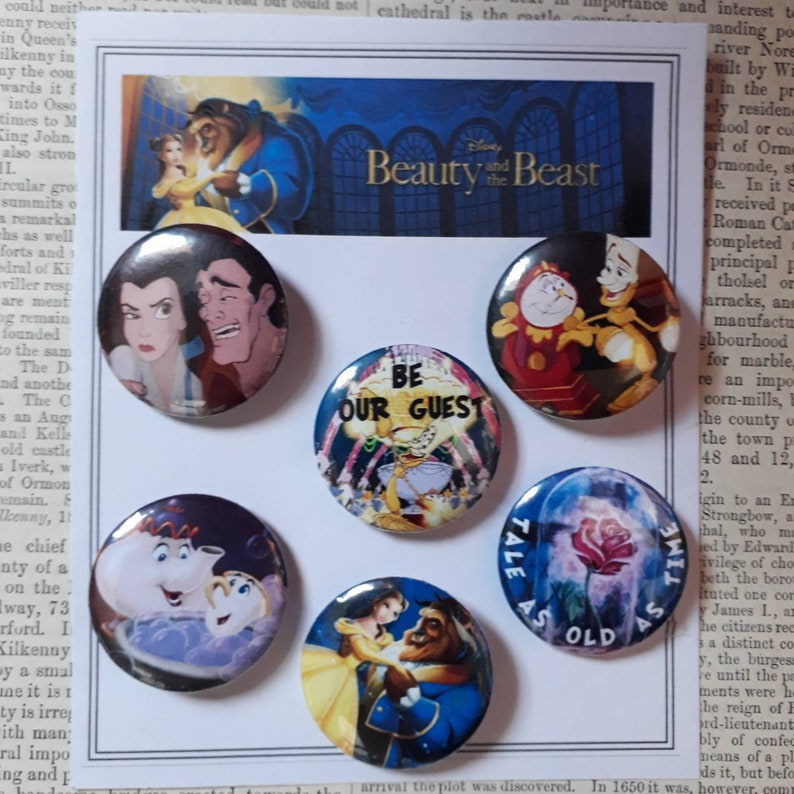 Wizard of oz 32mm Badges.