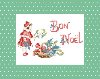 A « Little girl with mistletoe » Chart