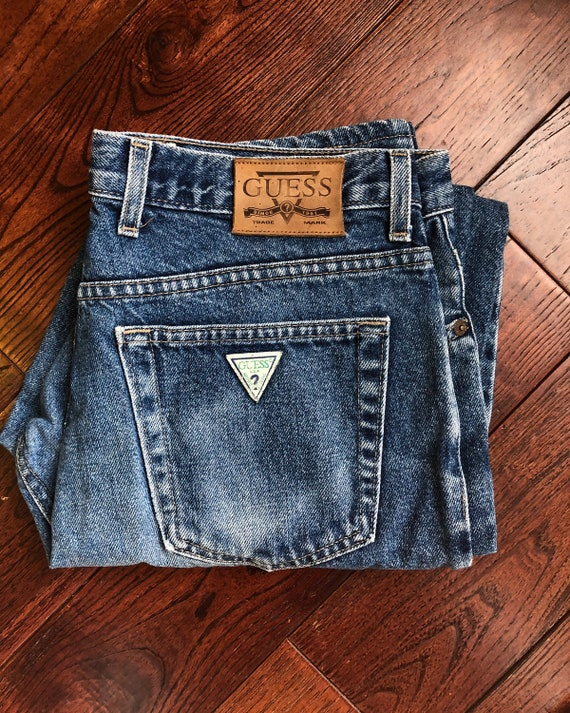 Vintage Guess Jeans | 90s Guess Jeans | 90s High W