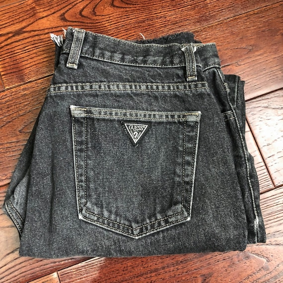 Vintage Guess Jeans | 90s Guess Jeans | 90s Cut Of