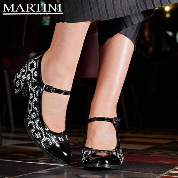 Women Shoes Mary Jane Shoes Black and
