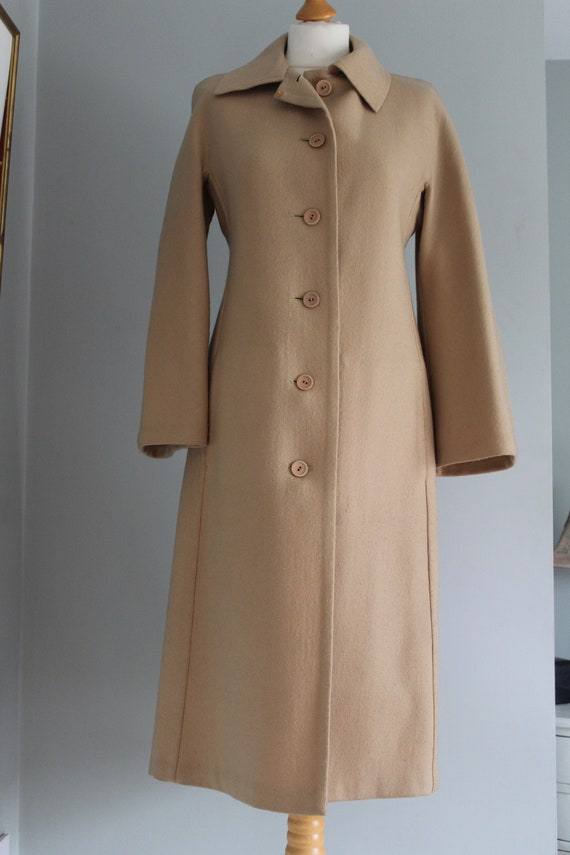 Vintage Hardy Amies - Camel Car Coat
