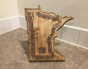 MN Cribbage Board (Free Customization)