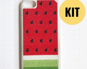 detailed look 659fb 0aaf4 Cross stitch iphone case | Etsy