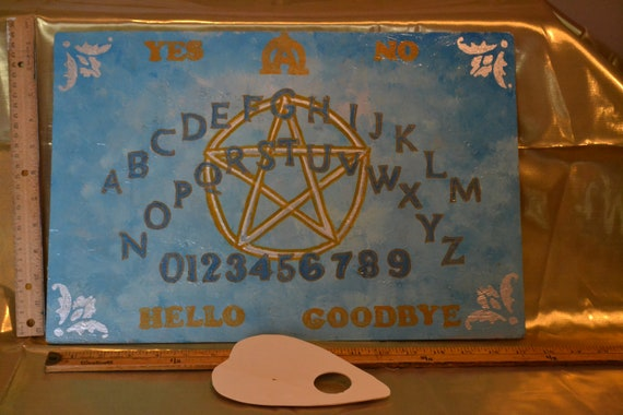 Spirit Board Talking Board Witch Board Ouija Board Title Pentangle