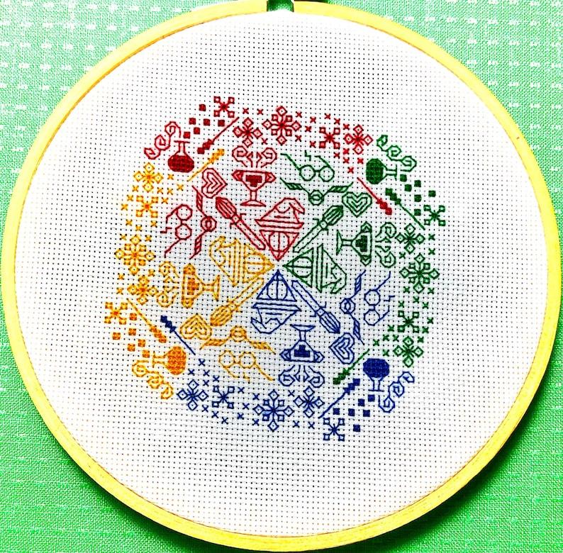 Harry Potter Blackwork Pattern image 0