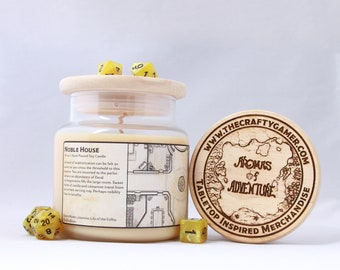 Noble House | 16 oz. Soy Candle | Dungeons & Dragons | Pathfinder | Tabletop Inspired Candle