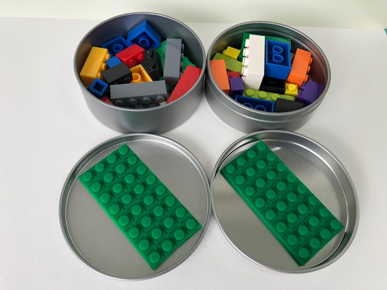 8 x Kid Kit Build City Building Block/Lego Party Favour image 0