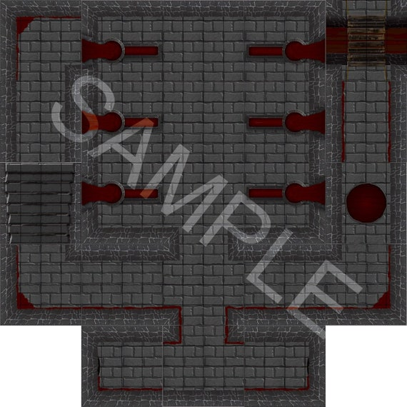 photo about Printable Dungeon Tiles titled Goods equivalent toward Blood Modular Dungeon Tile Fastened Printable