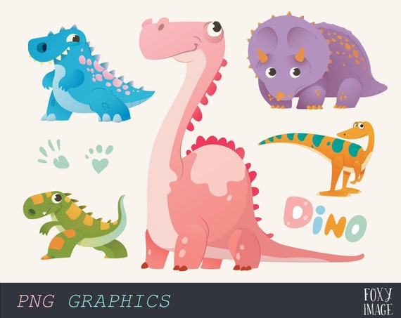 Dinosaurio Clipart Colorful Dinosaurios Set Dino Etsy Storybots dinosaur songs t rex velociraptor more learn with music for kids netflix jr.mp3. etsy