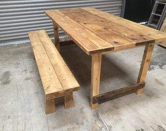 Folding Rustic Trestle / Banqueting / Event / Wedding Table
