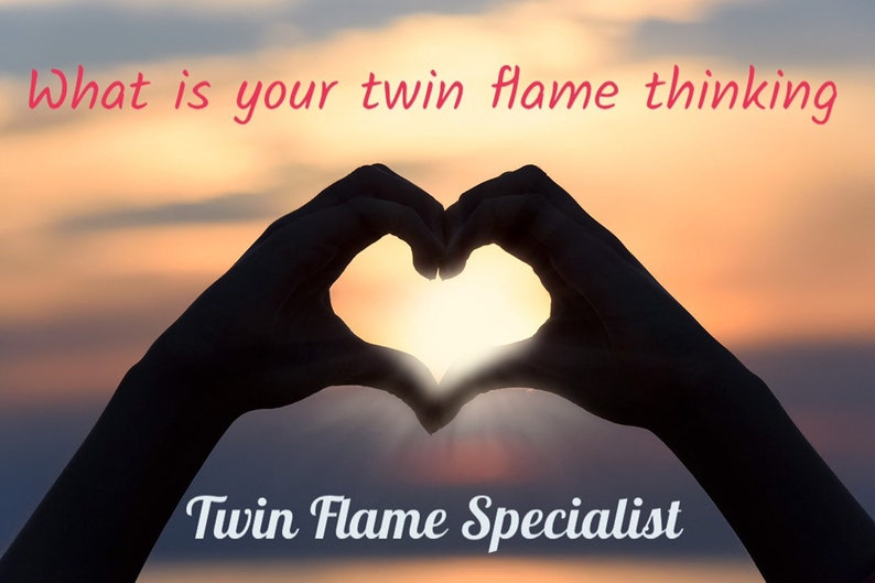 What is your twin flame thinking? Twin Flame Specialist, Psychic Medium