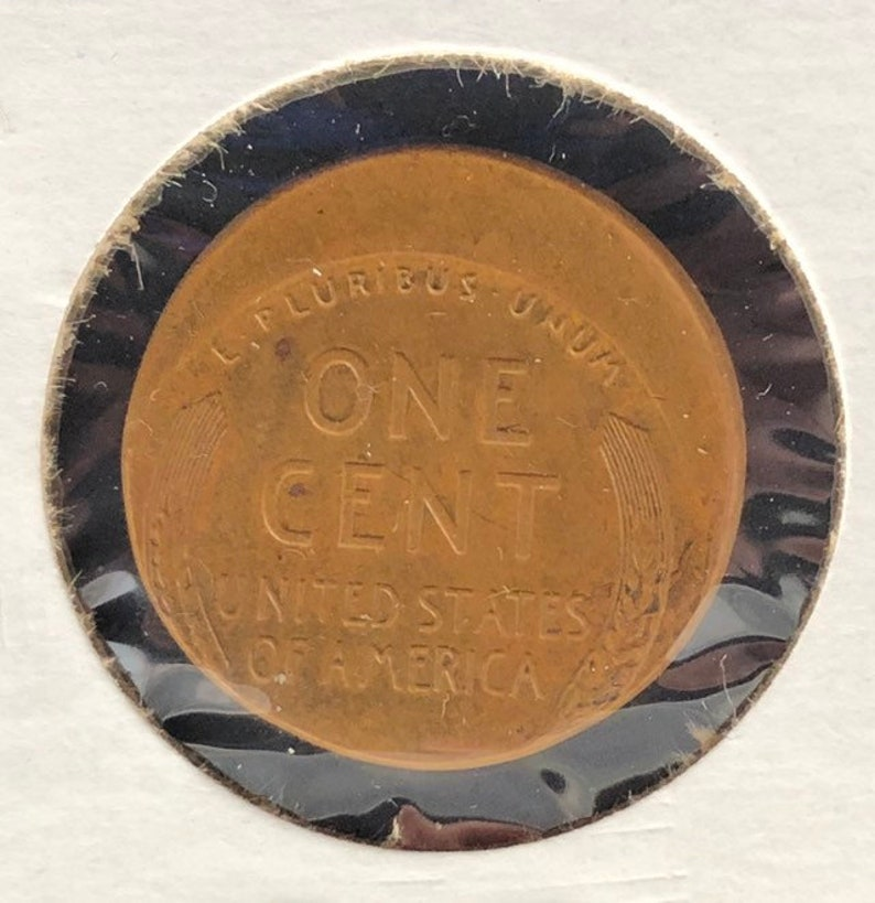Rare 1942 Major Off Center Lincoln Wheat Penny Mint Error Coin Genuine Cent  USA Coin Crazy Real Novelty ET141