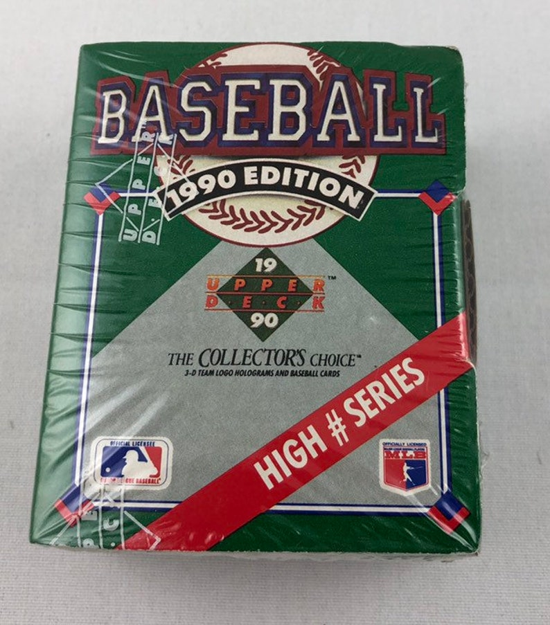 1990 Upper Deck Baseball High Series Factory Sealed Set Of 100 Card Complete Set Great Gift Idea