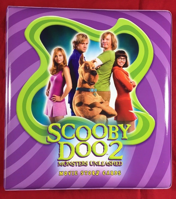 Scooby Doo 2 Monsters Unleashed Padded 3 Ring Binder Etsy