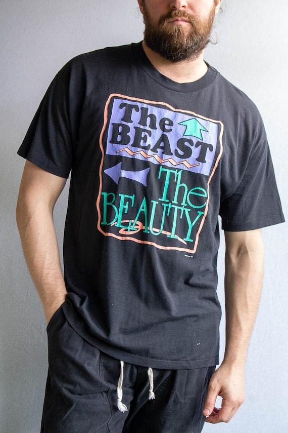 Vintage The Beast, The Beauty Tee x Large  vintag… - image 1