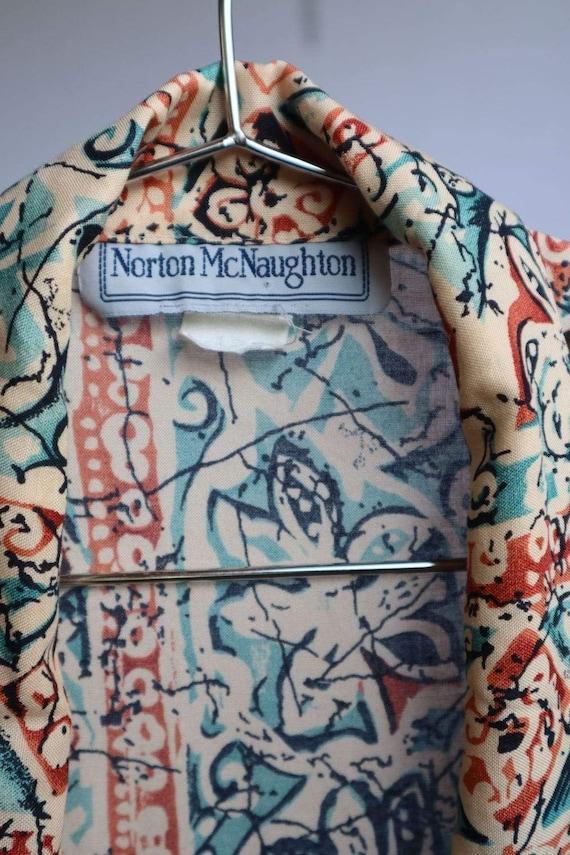 Vintage Floral Button Down Shirt  vintage clothin… - image 8