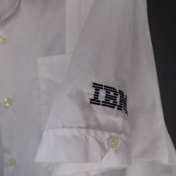 Vintage Vintage IBM Promotional Embroidered Panel… - image 4