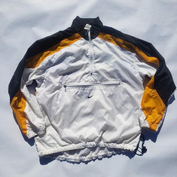 Vintage 1990s NIKE Swoosh Colorblock Pullover Wind
