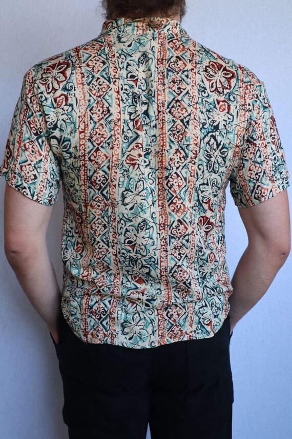 Vintage Floral Button Down Shirt  vintage clothin… - image 6