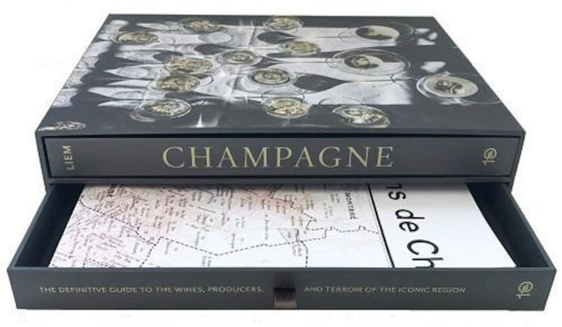 Champagne Boxed Book & Map Set image 0