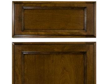 Custom finished solid Oak doors