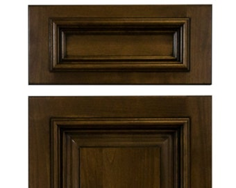 Custom finished solid Cherry doors
