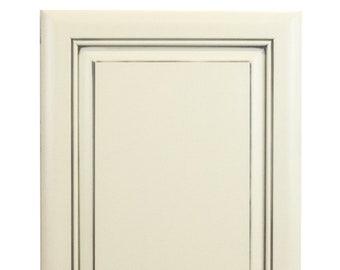 Custom painted maple doors
