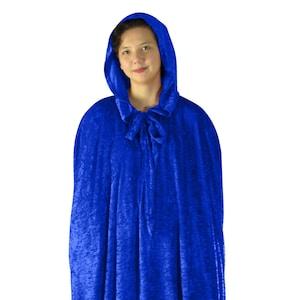 cape cloak Blue 17039 Medium Long 2x cape