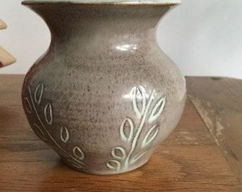 Fishley Holland potpourri vase.