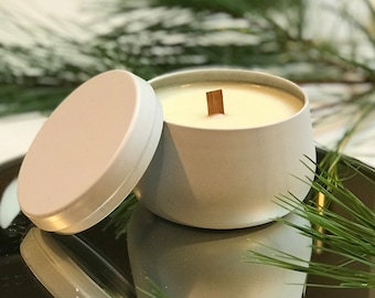 Christmas Cookie Soy Candle - Hand Poured in Collectible Metal Jar