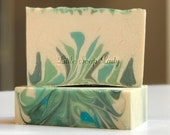 CLEARANCE!! Christmas Tree Homemade Bar Soap - All Natural Skin Care