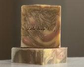 Oatmeal & Honey Bar Soap - All Natural Handmade Gentle Soap