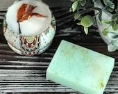 Pick Me Up Gift Set - Eucalyptus Mint Soy Wax Candle & Hand Soap, Bridesmaid Gift Set, Friendship Gift Set, Hostess Gift Set