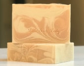 CLEARANCE! Pink Bliss Bar Soap - All Natural Handmade Skin Care