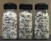SERENITY Lavender Calming Bath Salts - All Natural Handmade Therapeutic Bath Salts