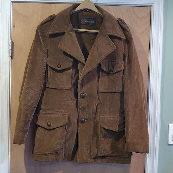 Vintage corduroy coat