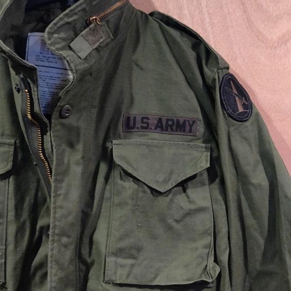 RESERVED Vintage Army Jacket