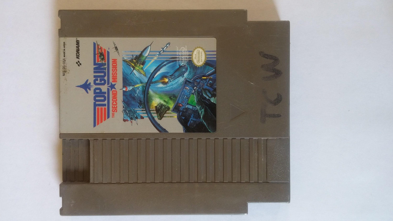 Top Gun Second Mission Nintendo Entertainment System Nes Etsy
