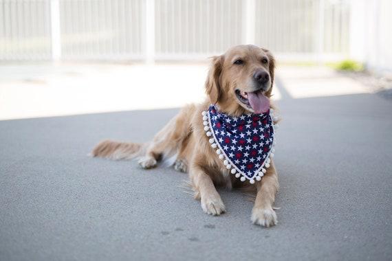 4th of July dog bandana, Independence Day, 4th of July, Summer Dog Bandana