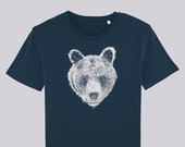 Brown bear T-shirt, Men's