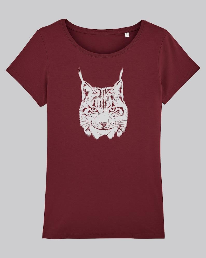 Lynx T-shirt Ladies image 0