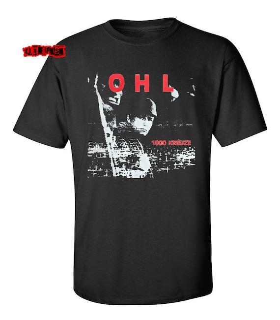 OHL T SHIRT classic german punk rock band album lp rock o rama records