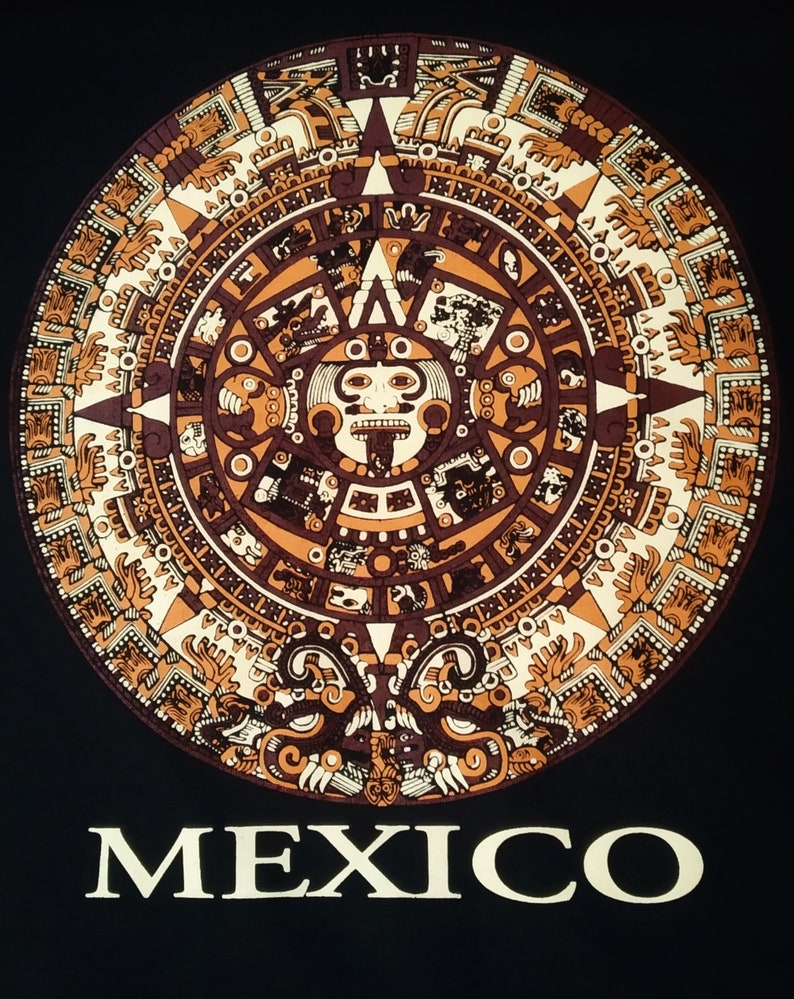 Calendario Azteca.Calendario Azteca T Shirt