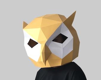 Owl mask   Etsy