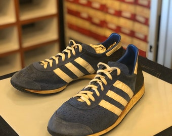 70`S 80`S VINTAGE ADIDAS OLYMPIA SHOES | made in west ge